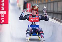 26.11.2016, Winterberg, GER, Viessmann Rennrodel Weltcup, Winterberg, Damen, Einsitzer, im Bild Tatjana Huefner GER // during women's single seater of Viessmann Luge World Cup. Winterberg, Germany on 2016/11/26. EXPA Pictures © 2016, PhotoCredit: EXPA/ Rolf Kosecki<br /> <br /> *****ATTENTION - OUT of GER*****