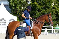 Michel Jessica, (FRA), Riwera de Hus<br /> Alltech FEI World Equestrian Games™ 2014 - Normandy, France.<br /> © Hippo Foto Team - Leanjo de Koster<br /> 25/06/14