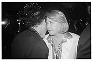 Billy Norwich, Liz Smith.  Arista party. Tavern on the green. New York© Copyright Photograph by Dafydd Jones 66 Stockwell Park Rd. London SW9 0DA Tel 020 7733 0108 www.dafjones.com