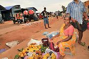 Negombo Street market, Sri Lanka Fruit for sale