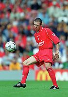 Nick Barmby (Liverpool) Liverpool v Parma, Pre-Season Friendly, 13/08/2000. Credit: Colorsport / Matthew Impey