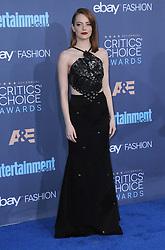 Emma Stone  bei der Verleihung der 22. Critics' Choice Awards in Los Angeles / 111216