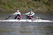 Crew: 98 - Ra aele / Pankhurst - Auriol Kensington Rowing Club - W MasB/C 2- <br /> <br /> Pairs Head 2020