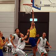 Basketbalwedstrijd de Dunckers - Eastwood Tigers