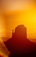Right Mitten, Monument Valley, Utah/Arizona border USA