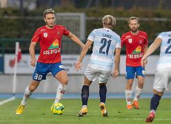 Magnus Fredslund (Hvidovre IF) under kampen i 1. Division mellem Hvidovre IF og FC Helsingør den 15. september 2020 på Pro Ventilation Arena, Hvidovre Stadion (Foto: Claus Birch).