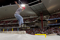 October 19, 2018 - Sydney, NSW, U.S. - SYDNEY, NSW - OCTOBER 19: Candy Jacobs of the Netherlands competes in Skateboard street womens final at The X-Games at Spotless Stadium in Sydney on October 19, 2018. (Photo by Speed Media/Icon Sportswire) (Credit Image: © Speed Media/Icon SMI via ZUMA Press)