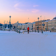 This shot has been taken in a very pleasant saturday in the beautiful Helsinki. Temrature was around -18 but the sun made it very beautiful day.