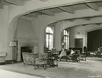 1935 Living room at the Hollywood Studio Club at 1215 Lodi Place