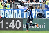 Musa Barrow Atalanta esultanza gol 0-1 goal celebration <br /> Roma 06-05-2018 Stadio Olimpico Football Calcio Serie A 2017/2018 Lazio - Atalanta Foto Andrea Staccioli / Insidefoto
