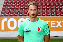08.07.2015, WWK Arena, Augsburg, GER, 1. FBL, FC Augsburg, Fototermin, im Bild Physiotherapeut James Morgen (FC Augsburg) // during the official Team and Portrait Photoshoot of German Bundesliga Club FC Augsburg at the WWK Arena in Augsburg, Germany on 2015/07/08. EXPA Pictures © 2015, PhotoCredit: EXPA/ Eibner-Pressefoto/ Kolbert<br /> <br /> *****ATTENTION - OUT of GER*****