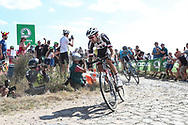 Tom Dumoulin (NED - Team Sunweb) on the cobbles of sector 3 during the 105th Tour de France 2018, Stage 9, Arras Citadelle - Roubaix (156,5km) on July 15th, 2018 - Photo George Deswijzen / Proshots / ProSportsImages / DPPI