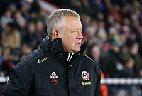 Sheffield United manager Chris Wilder <br /> <br /> Photographer Rich Linley/CameraSport<br /> <br /> The Premier League - Sheffield United v Manchester City - Tuesday 21st January 2020 - Bramall Lane - Sheffield<br /> <br /> World Copyright © 2020 CameraSport. All rights reserved. 43 Linden Ave. Countesthorpe. Leicester. England. LE8 5PG - Tel: +44 (0) 116 277 4147 - admin@camerasport.com - www.camerasport.com