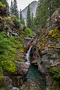 Hidden Falls, Grinnell Lake Trail