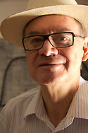 Poet Francisco Hernandez at home, Mexico City, Mexico