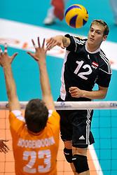 12-06-2011 VOLLEYBAL: EUROPEAN LEAGUE NETHERLANDS - AUSTRIA: ROTTERDAM<br /> Alexander Berger<br /> ©2011-FotoHoogendoorn.nl
