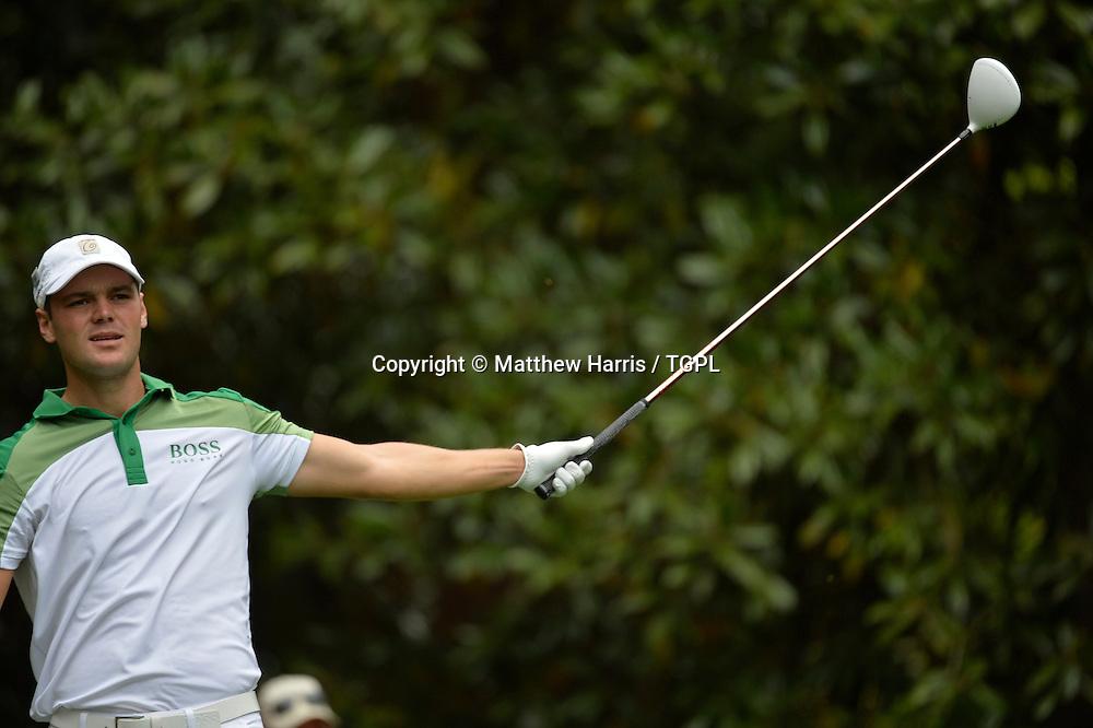 Martin KAYMER (GER) during fourth round,US Masters 2013,Augusta National,Augusta,Georgia,USA.