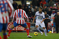 09.12.2012 SPAIN -  La Liga 12/13 Matchday 15th  match played between Atletico de Madrid vs R.C. Deportivo de la Courna (6-0) at Vicente Calderon stadium. The picture show Aythami?Artiles (Player of R.C. Deportivo)