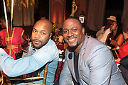 Bridgehampton, New York, NY-July 15:  (L-R) DJ/Photographer D-Nice and DJ MOS attend The 2017 RUSH Philanthropic's  Art For Life held at Fairview Farms on July 15, 2017 in Bridgehampton, New York. (Photo by Terrence Jennings/terrencejennings.com)
