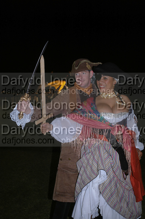 NIMMY  AND GAVIN BURKE, Goodwood Revival Ball. Saturday 17 September 2005.  ONE TIME USE ONLY - DO NOT ARCHIVE  © Copyright Photograph by Dafydd Jones 66 Stockwell Park Rd. London SW9 0DA Tel 020 7733 0108 www.dafjones.com