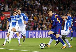 September 9, 2017 - Barcelona, Catalonia, Spain - Gerard Deulofeu during La Liga match between F.C. Barcelona v RCD Espanyol, in Barcelona, on September 09, 2017. (Credit Image: © Joan Valls/NurPhoto via ZUMA Press)