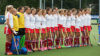 BREDA (Neth.)  Team of England during the match  New Zealand vs England U21 women . Volvo Invitational Tournament U21. COPYRIGHT KOEN SUYK