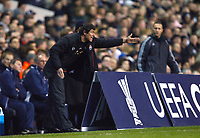 Alexandru Spiridon Assistant Head Coach of FC Shakhtar Donetsk.  Tottenham Hotspur Vs Shakhtar Donetsk at White Hart Lane London England<br /> UEFA Cup Third Round Second Leg.<br /> 26/02/2009. Credit Colorsport  / Kieran Galvin