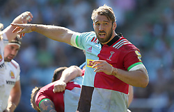 Harlequins' Chris Robshaw during the Aviva Premiership match at Twickenham Stoop, London. PRESS ASSOCIATION Photo. Picture date: Saturday May 5, 2018. See PA story RUGBYU Harlequins. Photo credit should read: Paul Harding/PA Wire. RESTRICTIONS: Editorial use only. No commercial use.