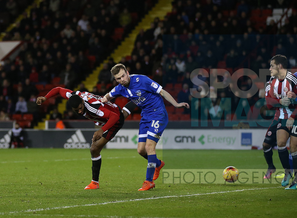 Ethan Ebanks-Landell of Sheffield Utd during the English League One match at Bramall Lane Stadium, Sheffield. Picture date: December 26th, 2016. Pic Simon Bellis/Sportimage