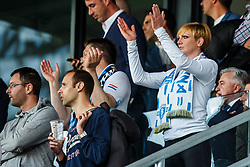 Fan of HNK Rijeka during football match between HNK Rijeka and GNK Dinamo Zagreb in Round #27 of 1st HNL League 2016/17, on November 5, 2016 in Rujevica stadium, Rijeka, Croatia. Photo by Grega Valancic / Sportida