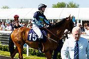 Uther Pendragon ridden by Isobel Francis and trained by J S Moore  - Ryan Hiscott/JMP - 19/04/2019 - PR - Bath Racecourse- Bath, England - Race 4 - Good Friday Race Meeting at Bath Racecourse