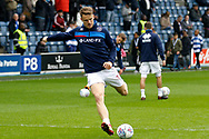 QPR 0 0 (27) warms up before kick off during the EFL Sky Bet Championship match between Queens Park Rangers and Birmingham City at the Loftus Road Stadium, London, England on 28 April 2018. Picture by Andy Walter.