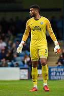 Peterborough United goalkeeper Aaron Chapman (1) during the EFL Sky Bet League 1 match between Gillingham and Peterborough United at the MEMS Priestfield Stadium, Gillingham, England on 22 September 2018. Picture by Martin Cole