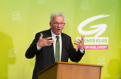 17.10.2016, Parlament, Wien, AUT, Grüne, Festveranstaltung anlässlich 30 Jahre Grüne im Parlament. im Bild Ministerpräsidente von Baden-Württemberg Winfried Kretschmann // german politician of the greens Winfried Kreschmann during ceremony due to 30 years of the green party in the austrian parliament in Vienna, Austria on 2016/10/17. EXPA Pictures © 2016, PhotoCredit: EXPA/ Michael Gruber