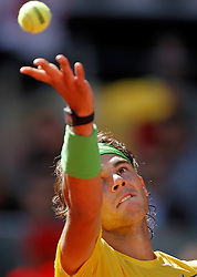 04-05-2010 TENNIS: ATP MADRID OPEN: MADRID<br /> Rafael Nadal ESP<br /> ©2010- FotoHoogendoorn.nl/ nph / Alvaro Hernandez