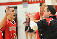 Brookside at Firelands boys basketball on February 19, 2013. Images © David Richard and may not be copied, posted, published or printed without permission.