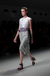"London, 17 September 2013<br /> LONDON FASHION WEEK<br /> DESIGNER NAME: Emilio de la Morena<br /> <br /> BACKGROUND: Born in Spain, Emilio studied at Central Saint Martins and the London College of Fashion. He has worked for Rafael Lopez and Jonathan Saunders. Emilio is by nature an intellectual designer, whose passion lies in exploring new processes and ways of putting clothes together. He manages to create surprising and fastidiously sexy cocktail looks by modernizing old and obscure craftsmanship techniques. But just as important as the intellectual explorations behind a collection, is the way each garment makes the wearer feel - reinforcing her personality and a sensual femininity.<br /> <br /> SIGNATURES: ""Sculptural chic.""<br /> <br /> IDEAL CLIENT: ""She is first and foremost strong, modern and in control. She knows her own mind and is not afraid to stand out; nor is she scared of expressing herself in a vibrant and bold way. She loves playing with her personality and uses dress to express the many layers of her character, always managing to strike the right balance between elegantly refined and provokingly sexy.  This woman is in control of her life both emotionally and economically, she lives in or close to a major metropolis, spending most if not all her time in the city. It is important that the work she does stimulates her. Whatever her chosen field, it will be one that she can really commit to. She will be at the centre of the work that she does whatever the industry and whatever the level. Don't mess with this woman; she will have you wrapped around her little finger in no time.""<br /> <br /> PRE-SPRING 2013 COLLECTION: ""I'm building on the direction seen in our autumn/winter collection, showing the Emilio woman developing strongly into the sensual urban woman, with a strong sense of who she is and in control of where her life is heading. I am making further explorations into Spanish artisanal techniques, dusting them off and making them fresh and relevant for this woman.""<br /> Contact details<br /> Sales Contac"
