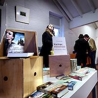 Nederland, Marken , 17 maart 2014.<br /> commerciële bibliotheek in gem. Waterland.<br /> Karmac is een bedrijf dat sinds februari in o.a. gemeente Waterland (waaronder Marken) bieb runt.<br /> Foto:Jean-Pierre Jans