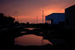 Barentu, Eritrea at dusk August 30, 2006.     (Photo by Ami Vitale)