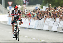 Second placed Jan Polanc of UAE Team Emirates during Slovenian National Road Cycling Championships 2021, on June 20, 2021 in Koper / Capodistria, Slovenia. Photo by Vid Ponikvar / Sportida