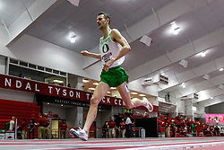 Razorback Invitational<br /> Indoor college track & field meet<br /> Charlie Hunter of Oregon wins Mile in 3:54.54