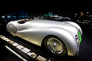 BMW 328 Mille Miglia Roadster,1939, car on display at the BMW Museum and Headquarters in Munich, Bavaria, Germany