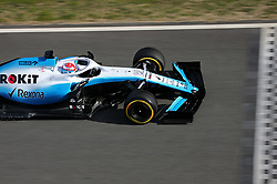 February 26, 2019 - Barcelona, Catalonia, Spain - the Williams of George Russell during the Formula 1 test in Barcelona, on 26th February 2019, in Barcelona, Spain. (Credit Image: © Joan Valls/NurPhoto via ZUMA Press)