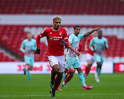 Lyle Taylor of Nottingham Forest  - Mandatory by-line: Nick Browning/JMP - 29/11/2020 - FOOTBALL - The City Ground - Nottingham, England - Nottingham Forest v Swansea City - Sky Bet Championship