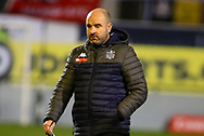 Marine manager Neil Young  during the The FA Cup match between Marine and Tottenham Hotspur at Marine Travel Arena, Great Crosby, United Kingdom on 10 January 2021.