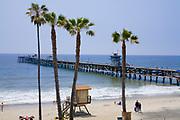 San Clemente Pier, Orange County, California, USA