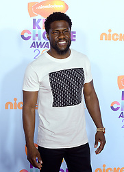 Kevin Hart attends the Nickelodeon's 2017 Kids' Choice Awards at USC Galen Center on March 11, 2017 in Los Angeles, California. Photo by Lionel Hahn/ABACAUSA.COM