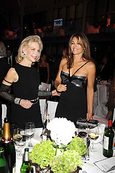 Left to right, LYNN WYATT and LIZ HURLEY at the GQ Men of the Year Awards held at the Royal Opera House, London on 2nd September 2008.<br /> <br /> NON EXCLUSIVE - WORLD RIGHTS