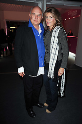 Private View of the Pavilion of Art & Design London 2010 held in Berkeley Square, London on 11th October 2010.<br /> Picture Shows:-ROLF & MARYAM SACHS