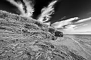 Shoreline of Northumberland Strait , Cap-Lumiere, New Brunswick, Canada
